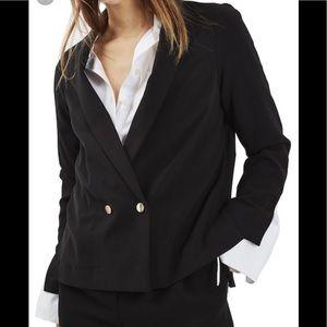 Top shop split cuff blazer
